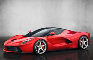 laferrari quarter view