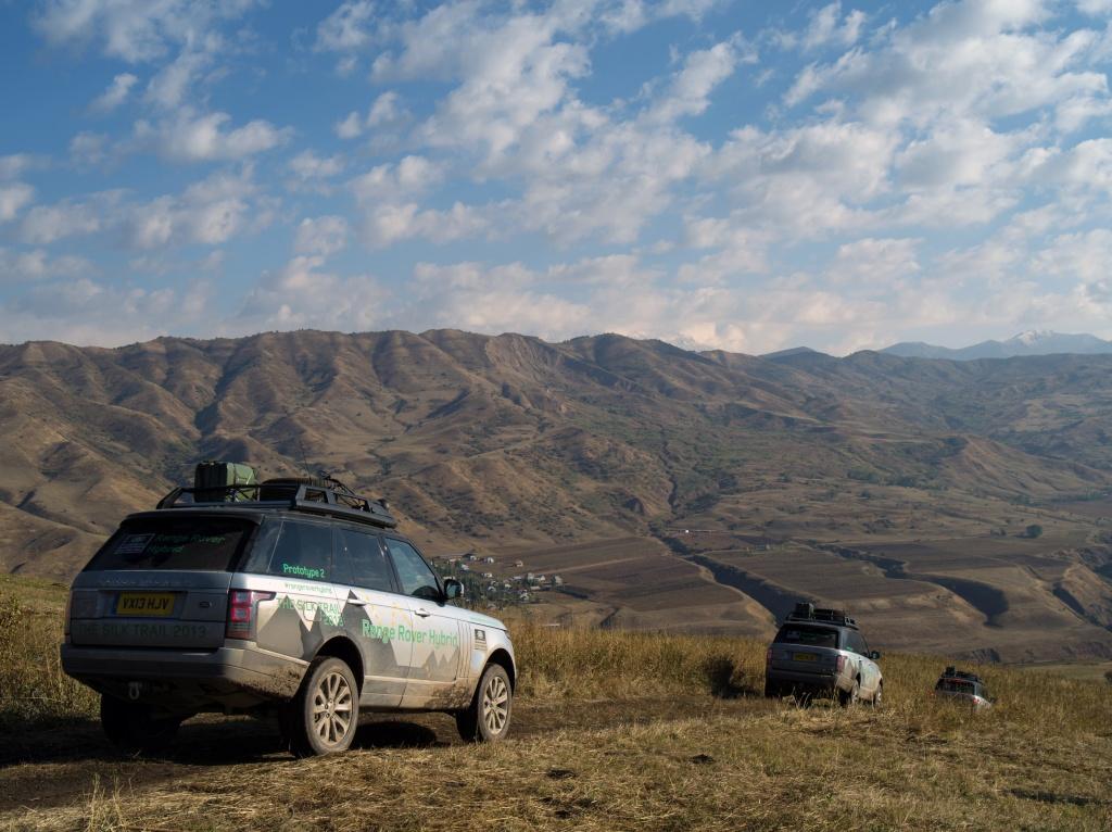 Range Rover Hybrid prototypes