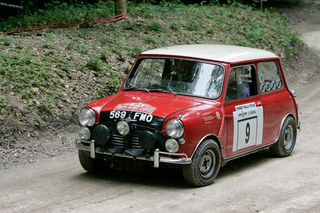 Rauno Aaltonen Mini Cooper S FoS 2013