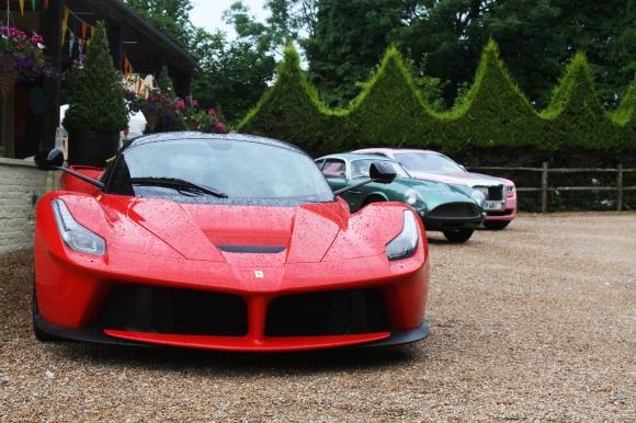 LaFerrari, Aston Martin DB4 Zagato and Rolls Royce