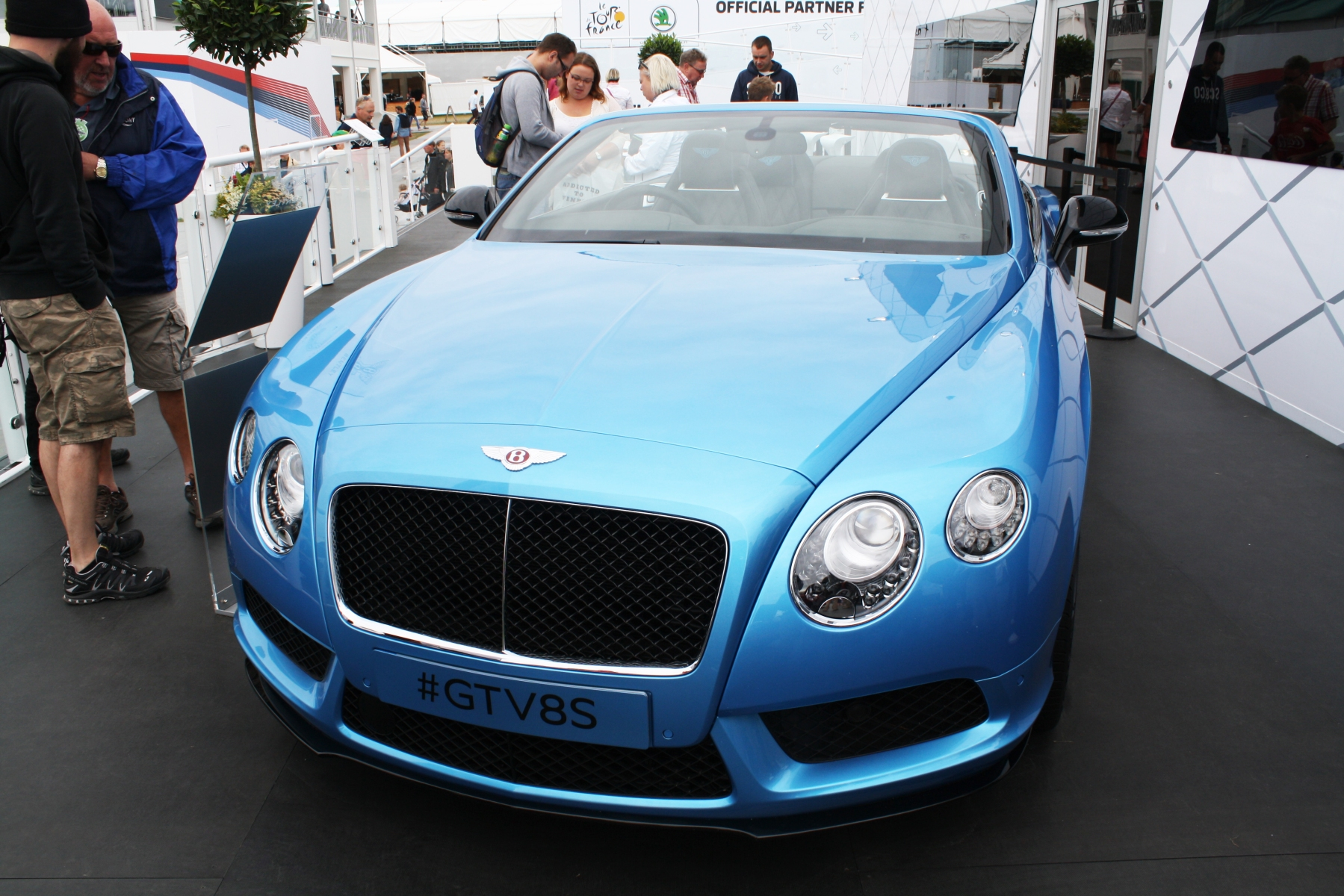 Bentley GT V8S