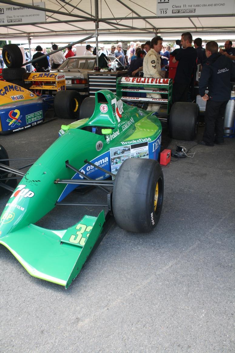 7up F1 car