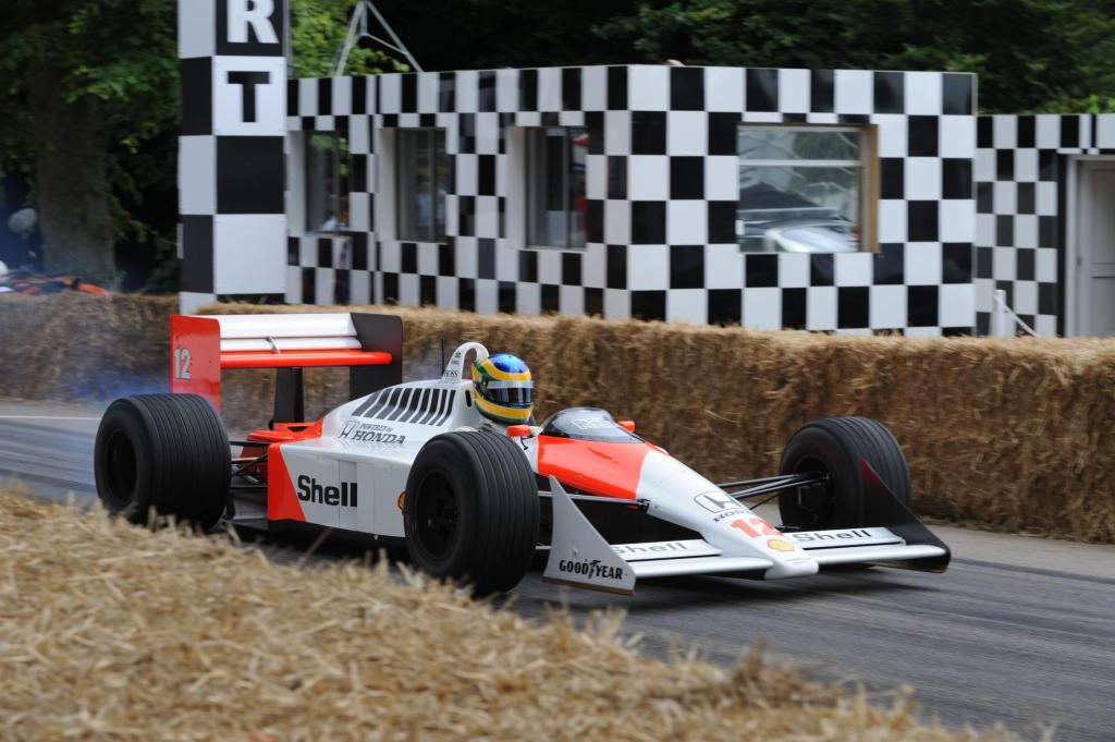 Bruno Senna McLaren-Honda MP4-4 Festival of Speed