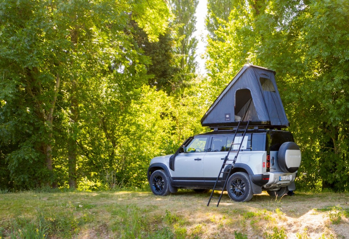 Land Rover X AutoHome create ultimate camping accessory for Defender110