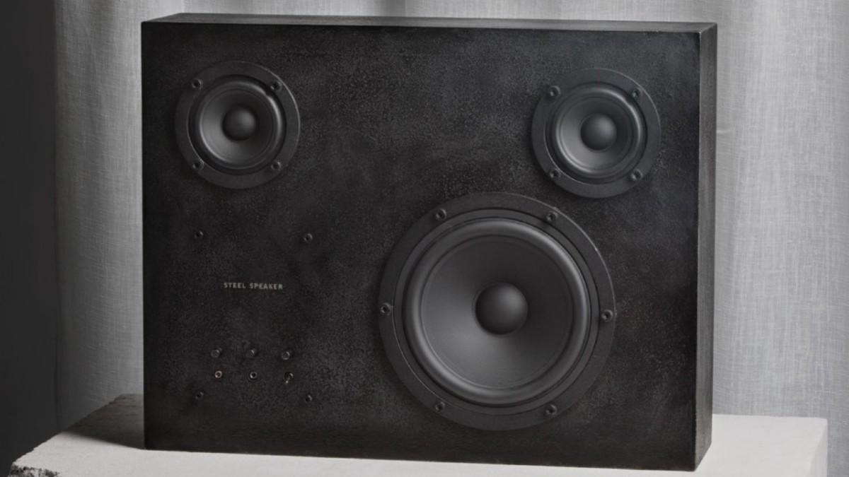 Steel Speaker by TransparentSound