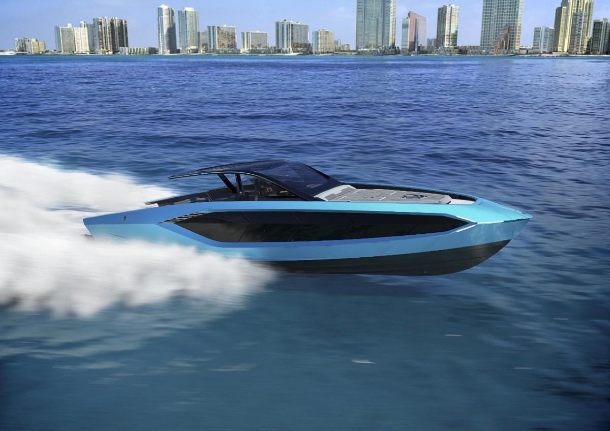 Tecnomar for Lamborghini 63 -a superyacht for the Lamborghinidriver