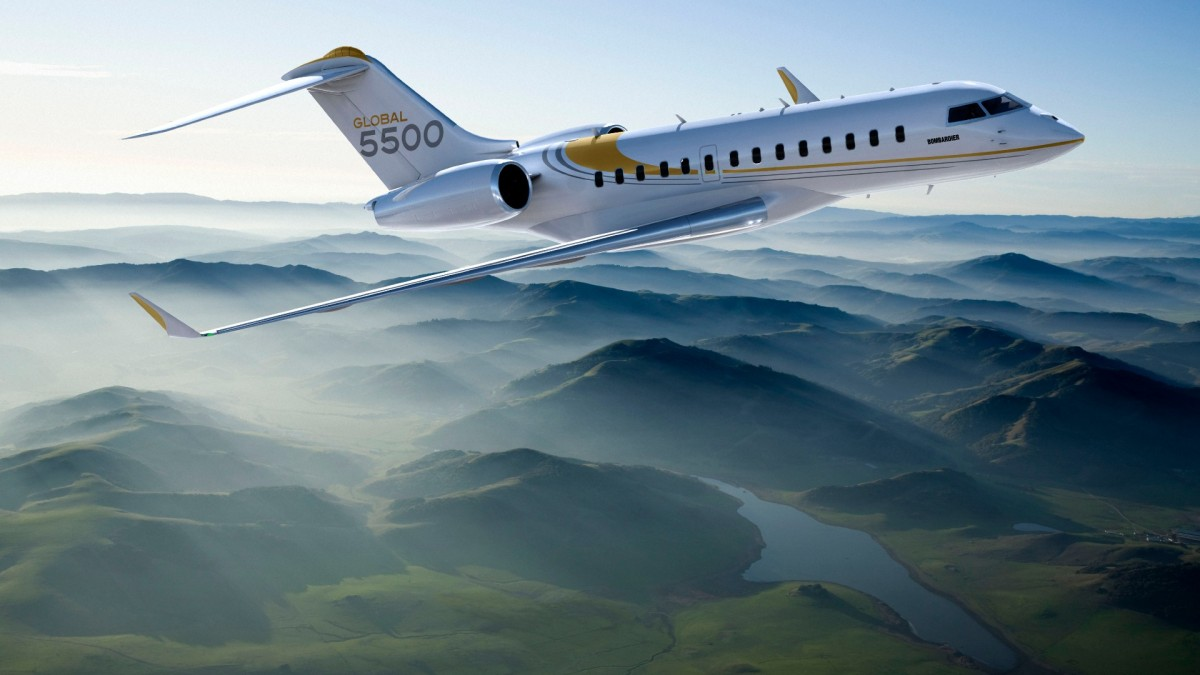 Bombardier Global 5500 – The new way to flyprivate
