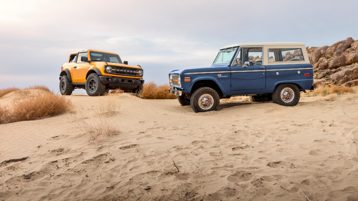 Ford brings back theBronco