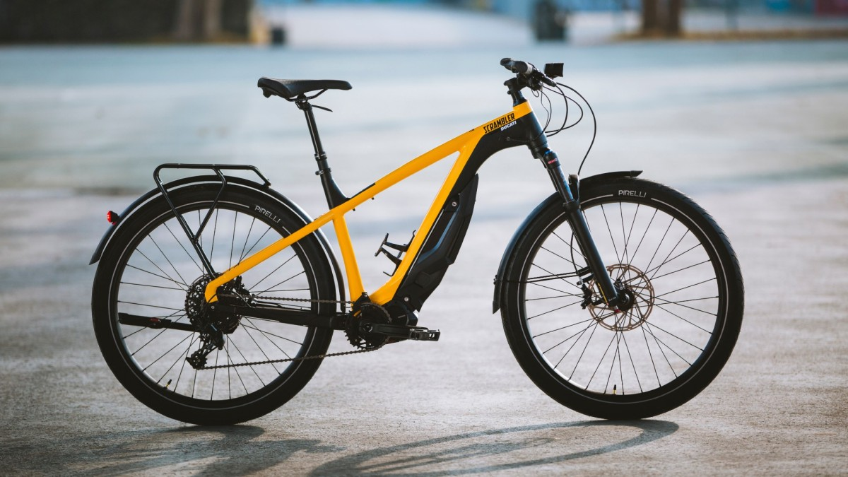 Ducati e-Scrambler: A new type of electricbicycle