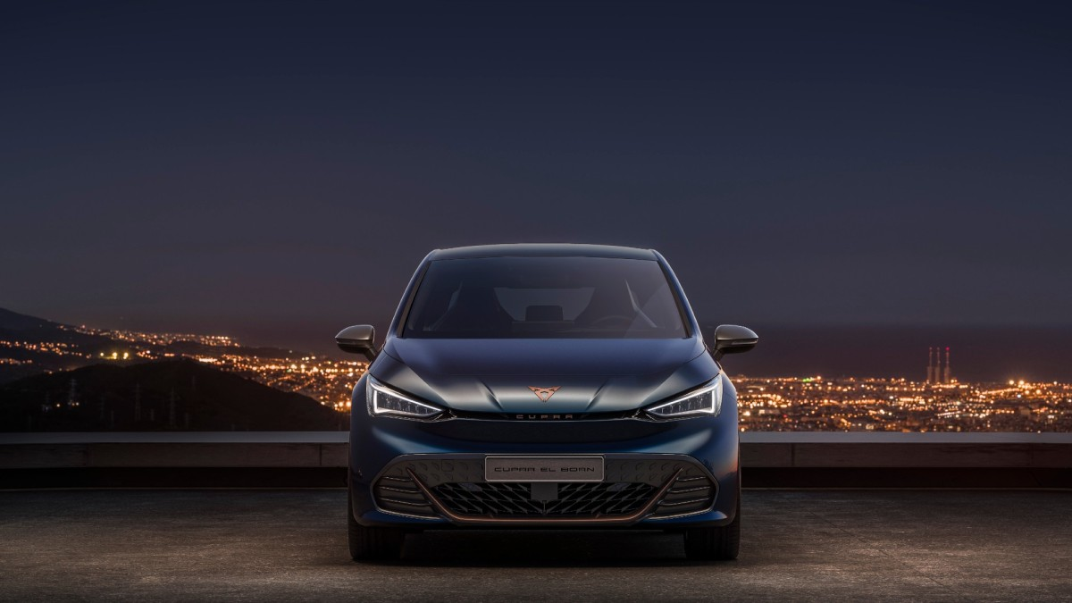 CUPRA's first all electric vehicle is here –el-Born