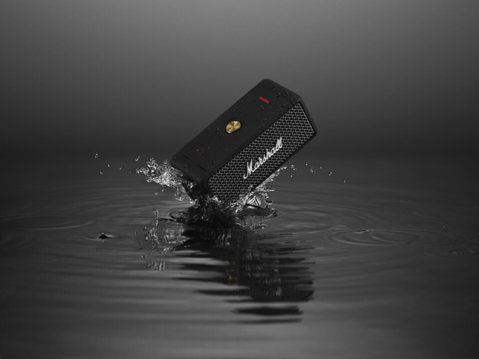 Marshall Emberton – a portable speaker packing apunch