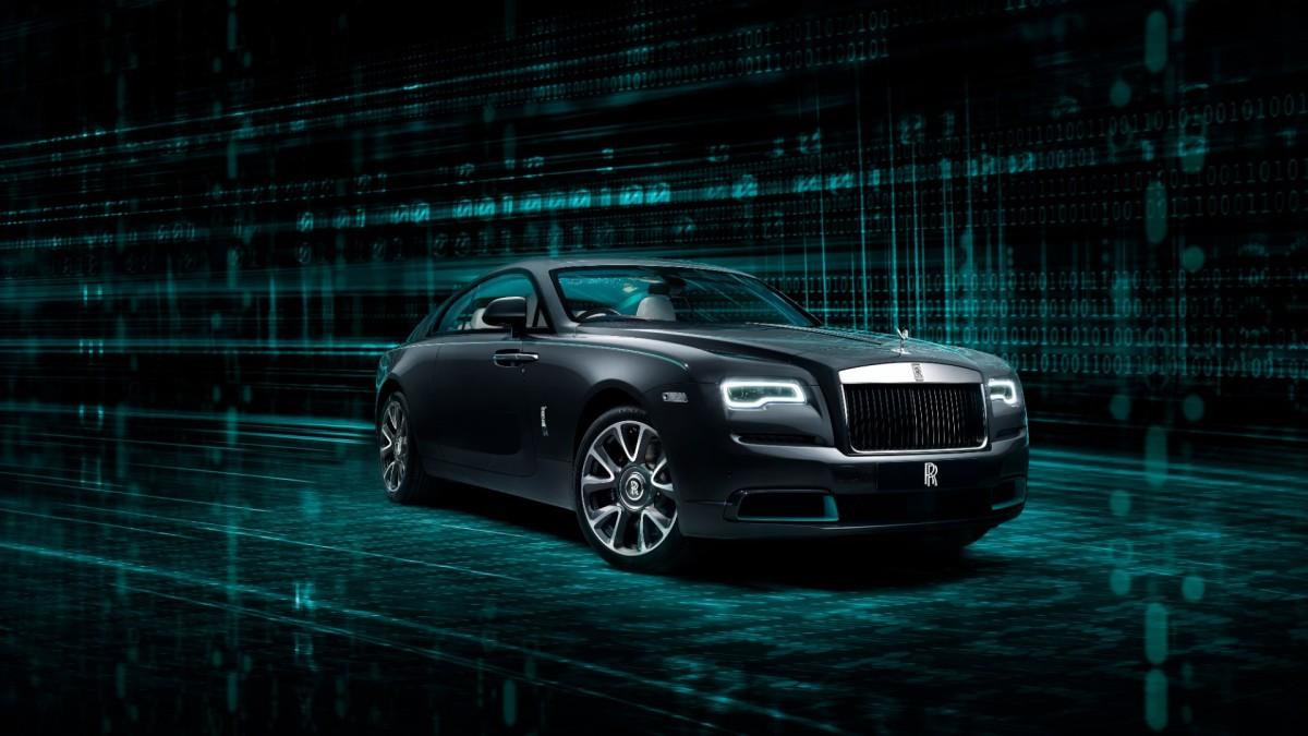 Rolls-Royce Wraith Kryptos – the car withciphers