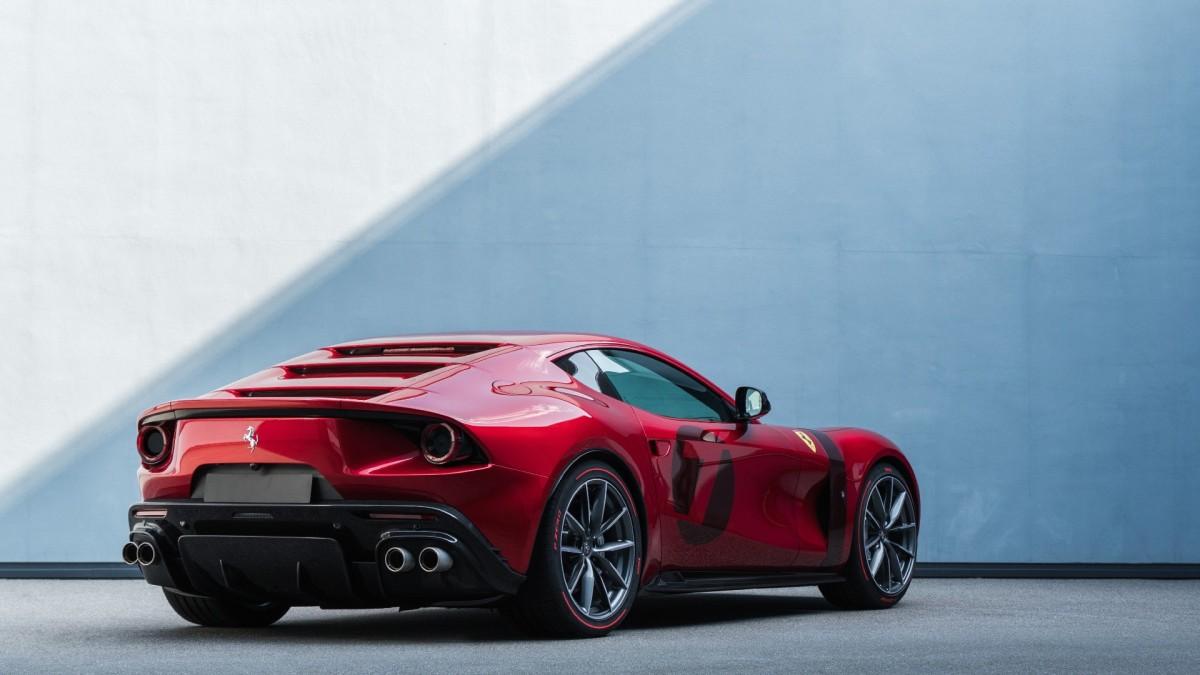 Ferrari Omologata, aone-off