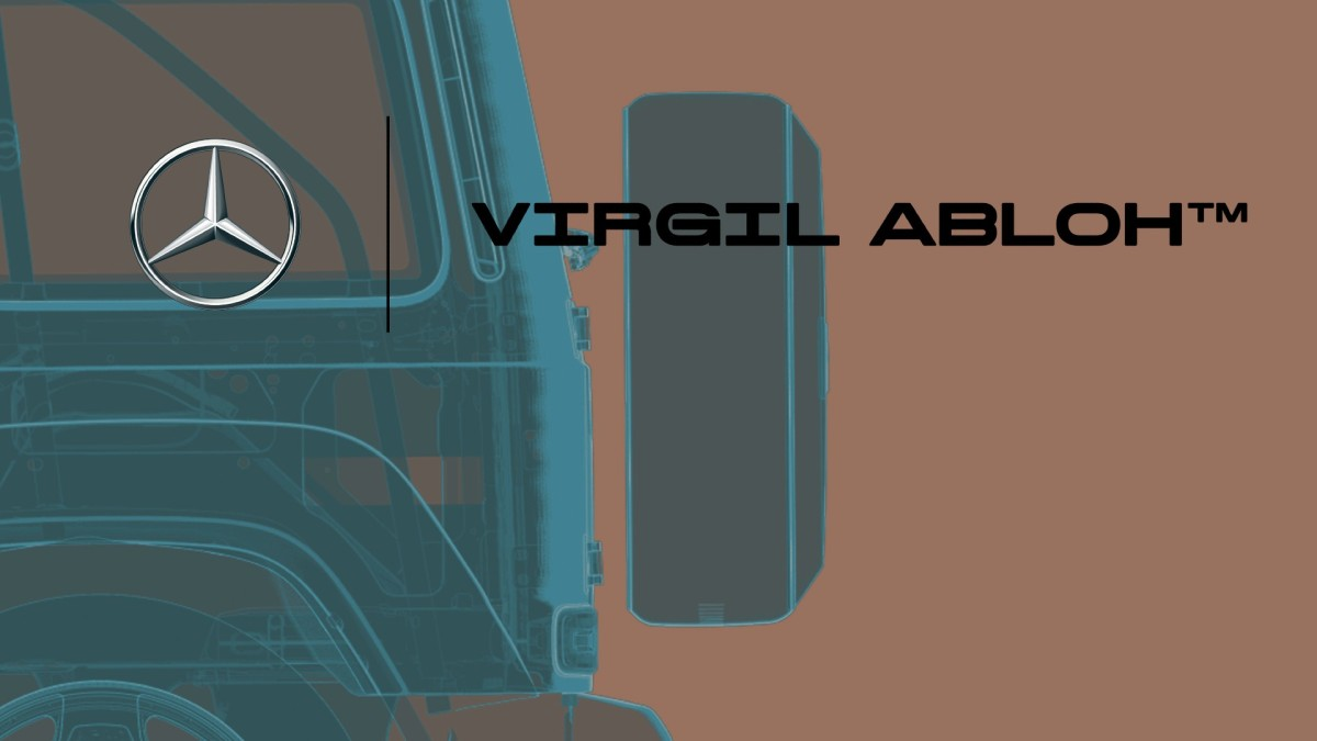 Virgil Abloh X Mercedes-Benz: ProjectGelandewagen