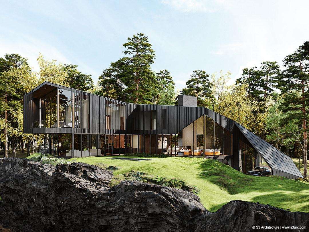 Sylvan Rock – A property designed by AstonMartin