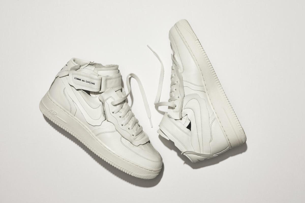 Nike x Comme des Garcons Air Force 1Mid