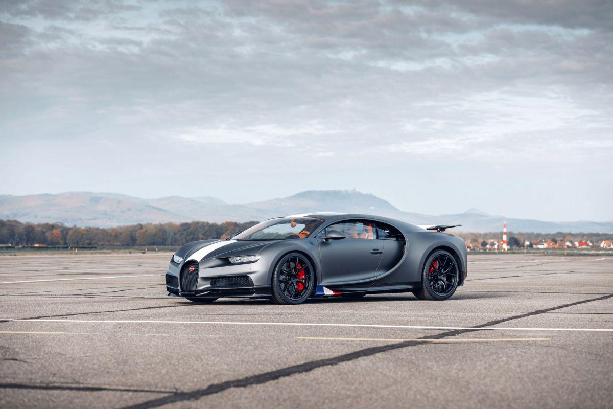 """Bugatti Chiron Sport """"LES LÉGENDES DUCIEL"""""""