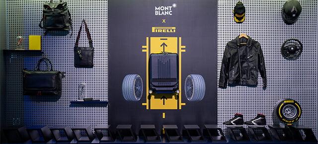 Montblanc X Pirelli Limited Editionsuitcases
