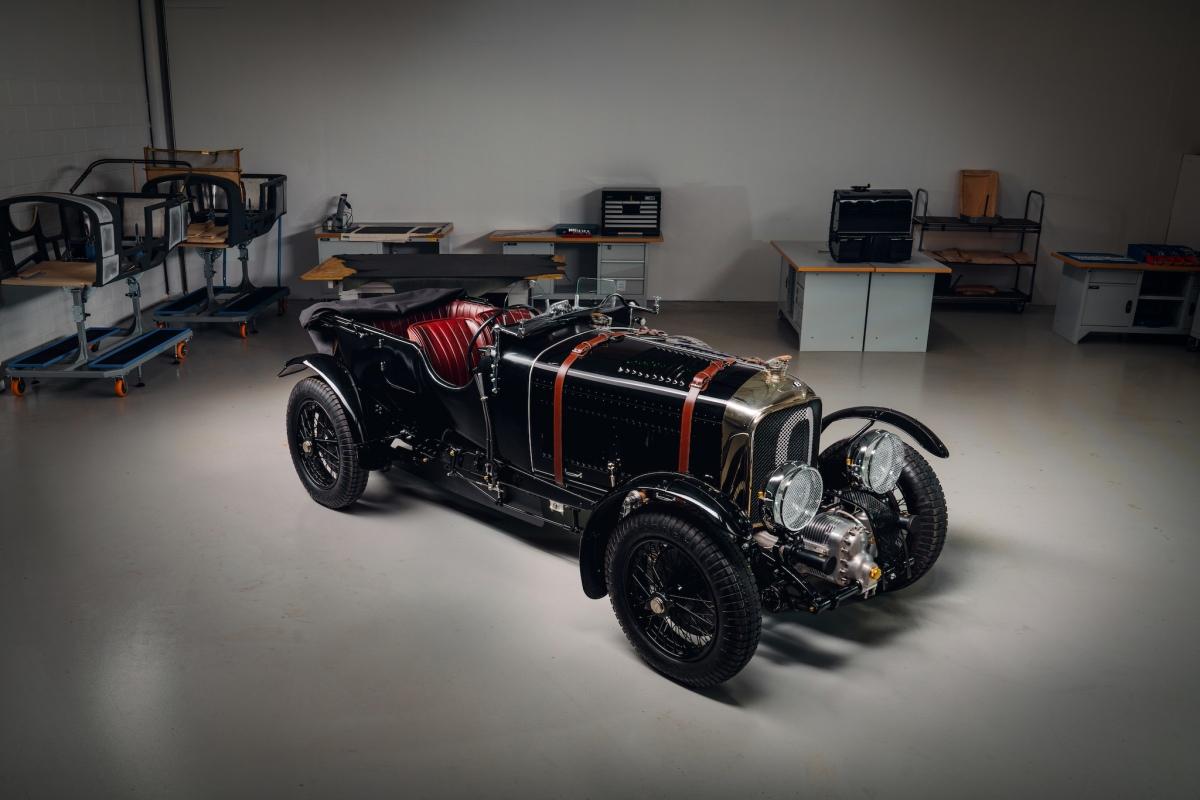 The Bentley Blower isback!