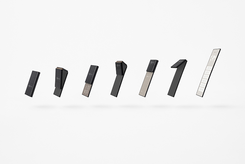 OPPO showcases new conceptual phonedesign
