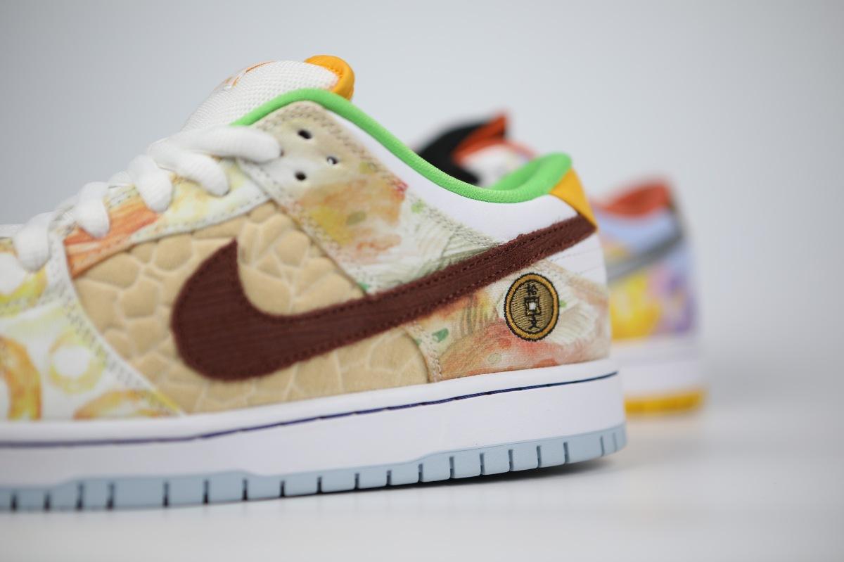 Nike SB Dunk Low Street Hawker celebrates Chinesecuisine