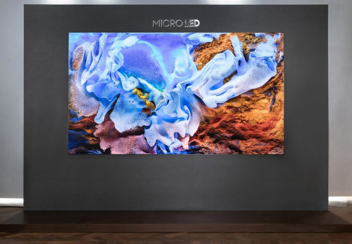 Samsung reveals 110-inch MicroLEDTV