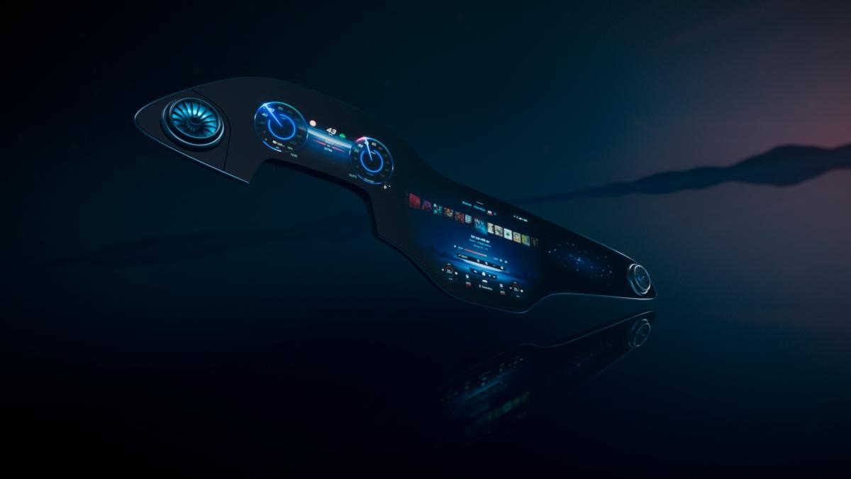 Mercedes unveils MBUXHyperscreen