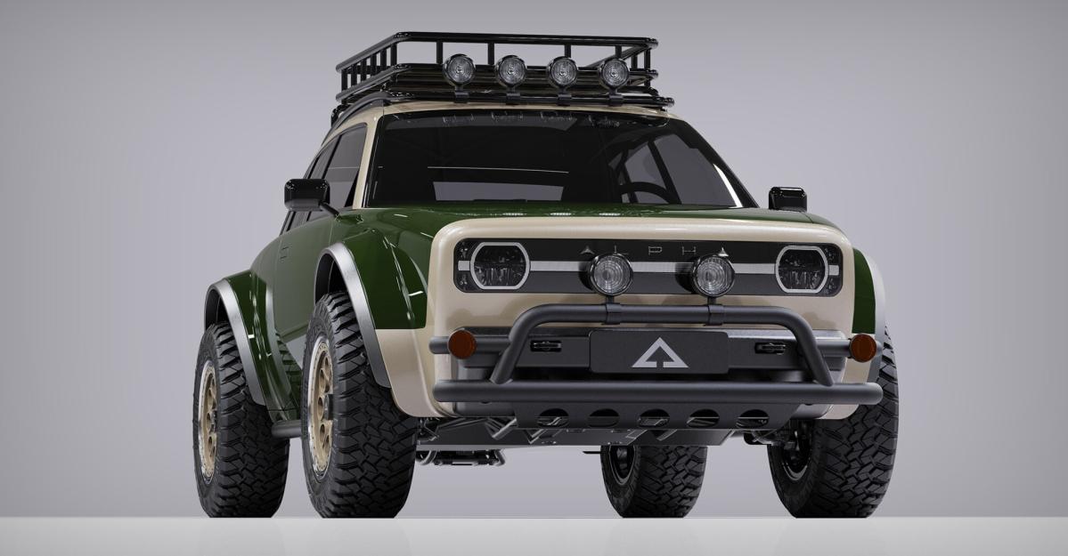 Alpha Motor Corporation reveals latest electric CUV – theJAX